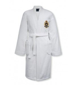 CLEFFSTO WHITE BATHROBE S