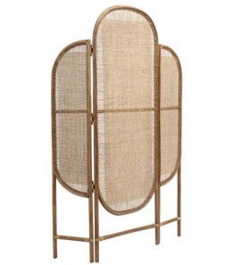 DIVIDER IN RATTAN WEAVING IN NATURAL COVER