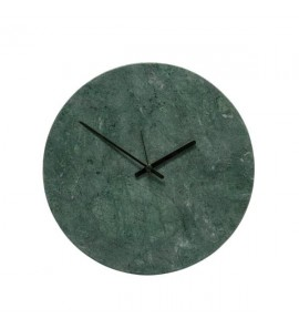 CLOCK MARBLE GREEN